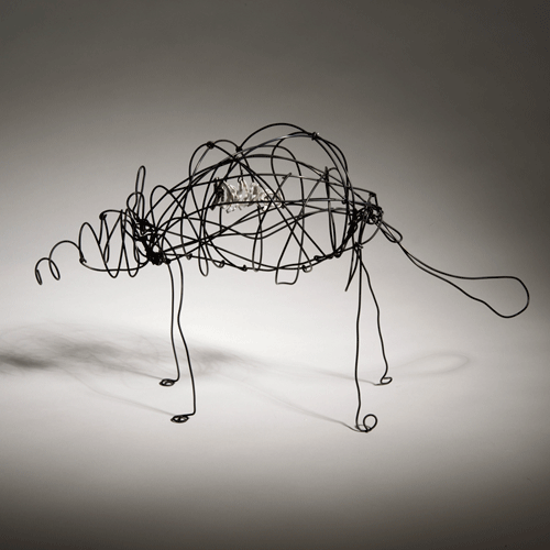 Page Coleman, wire animal